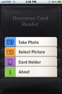 Business card readers a comparison of three 148apps after a photo is taken using business card reader it scans the image using a very cool highlighted line that moves the length of the image reheart Images