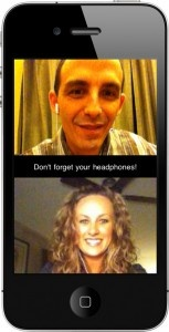Chatroulette mobile app iphone