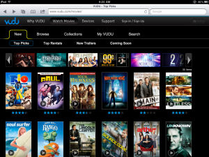 VUDU Launches Browser-Based Web App For Watching Rented and