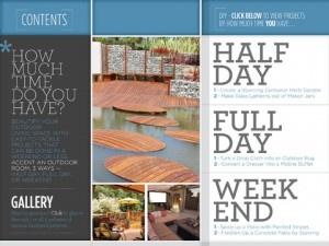 Hgtv Releases Magazine Like App Shelf 148apps