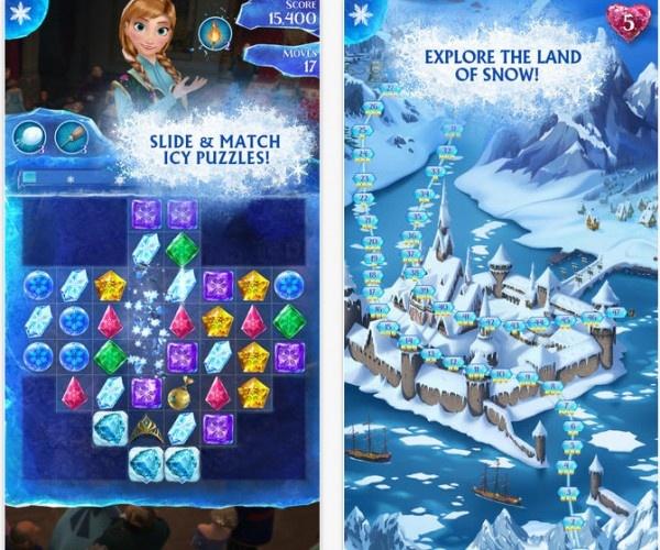 disney frozen games free to play