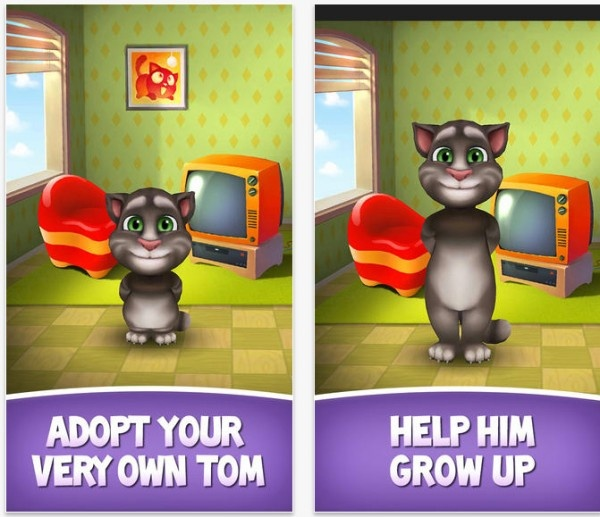 My Talking Tom is Now Available, Giving Users a Chance to Raise a Kitten That Talks Back to Them