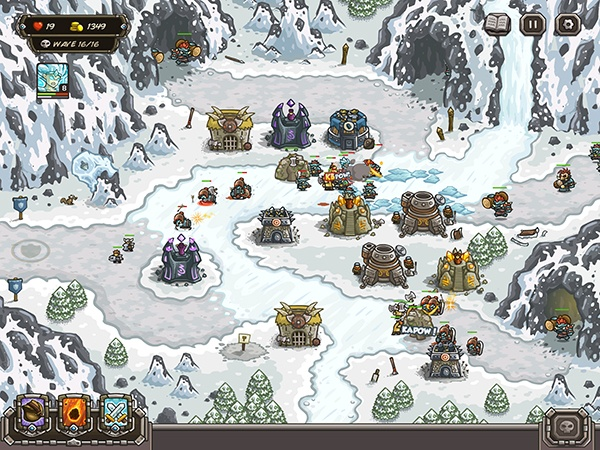 It's a Winter Storm In New Kingdom Rush Update | 148Apps
