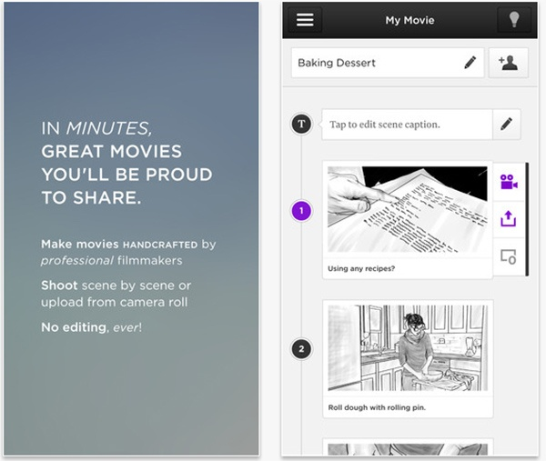 Directr Lets Users Create and Share Movies