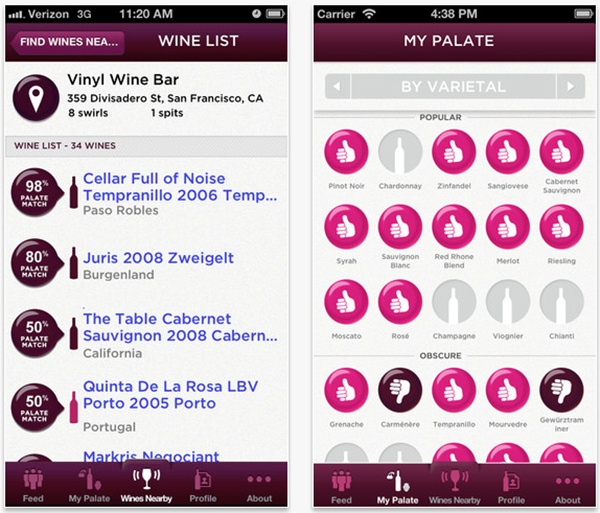 Discover and Track Your Favorite Wines with 'Swirl it! For Wine'