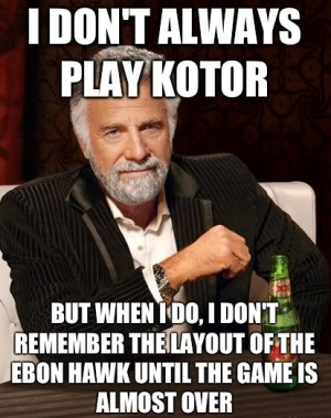 i dont always play kotor updates tagged with 'hk 47' (page 1) 148apps,Hk Meme