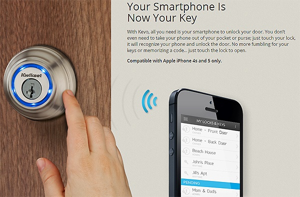 Kevo Lock Uses Your iPhone As A Key