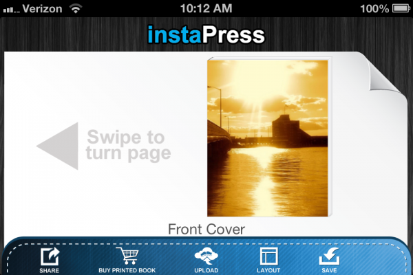 instaPress - Create Your Own Books From Web Pages, PDFs, or Word Docs