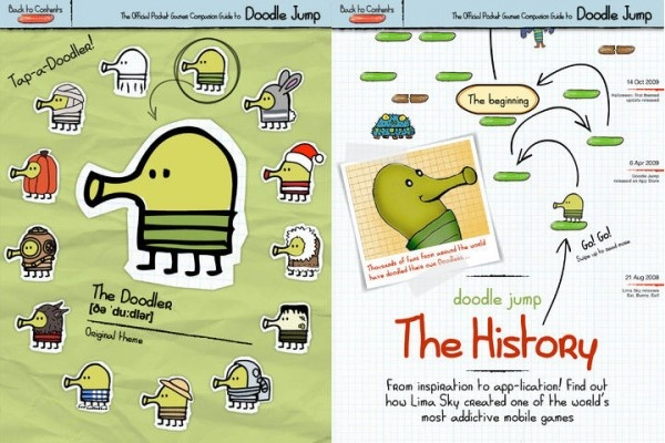 The Official Companion Guide to Doodle Jump – iPad edition Is Here!