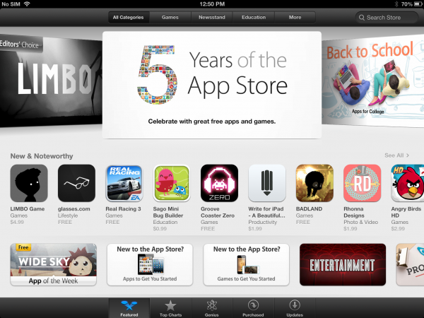 App Store Fifth Anniversary: The Ups and Downs of iOS Publishing