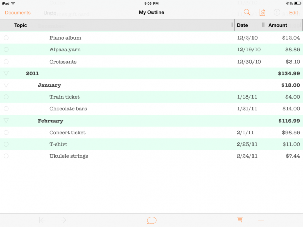 omnioutliner 2 review 148apps