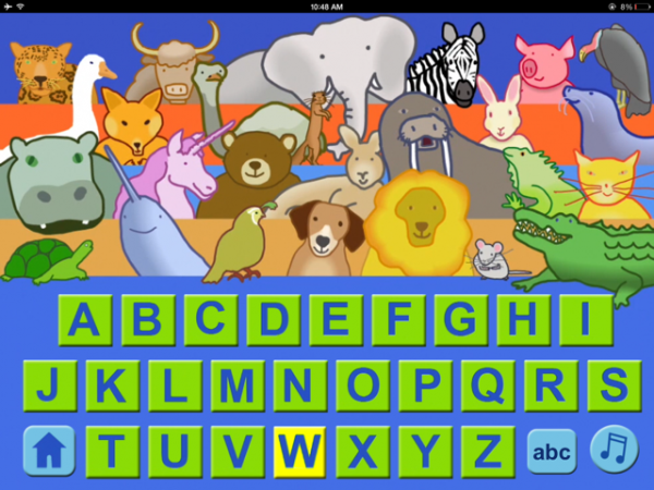 the animal alphabet singers review 148apps