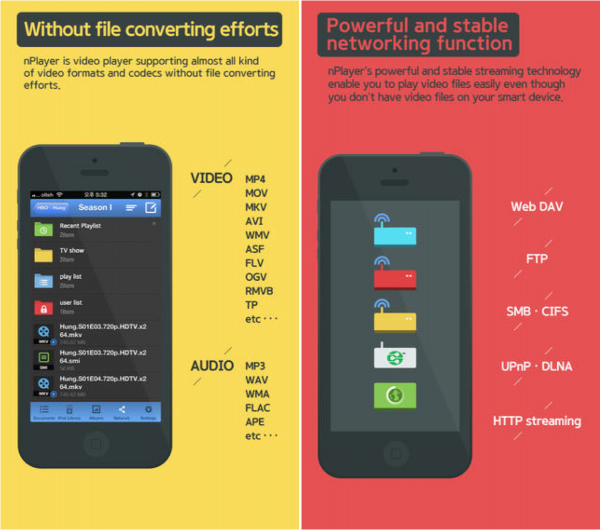 nPlayer looks to be the ultimate choice for users who need a video player on iOS