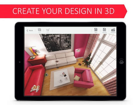 living room 3d for ikea makes all in app purchases free until 2015