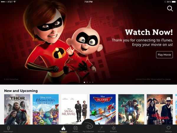 movies anywhere app