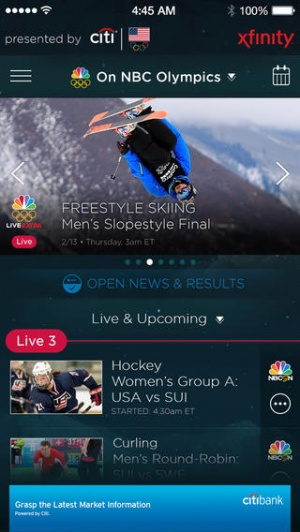 The Nbc Sports Live Extra App Lets You Watch All The Sochi