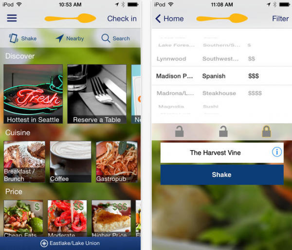 Urbanspoon Restaurant Review App Gets Redesigned For Ios 7