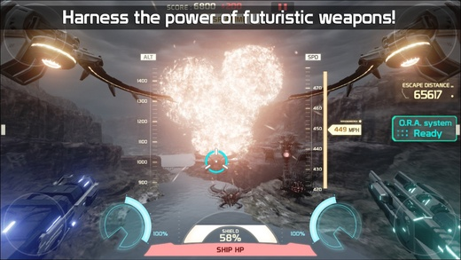 Take to the skies in gorgeous Unreal Engine 4-powered shooter Angels