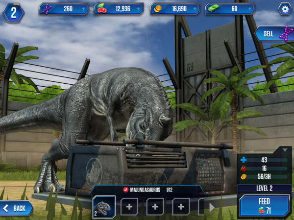 Jurassic world the game tips tricks and strategies for getting remember those class advantages carnosaurs beat herbivores beat pterosaurs beat amphibians beat carnivores if you ever forget you can find a handy gumiabroncs Choice Image