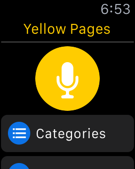 Yellow Pages Apple Watch Review   148Apps on traffic directions, travel directions, maps directions, bing directions,