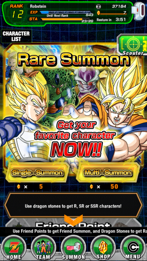 What Dokkan was like at launch: First banner, first events