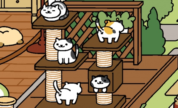 neko atsume kitty collector guide how to get even more rare cats 148apps. Black Bedroom Furniture Sets. Home Design Ideas
