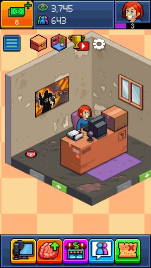 How To Use Your Room To Get The Most Views In Pewdiepie 39 S Tuber Simulator 148apps