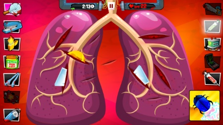 Amateur Surgeon Christmas - Play on Armor Games