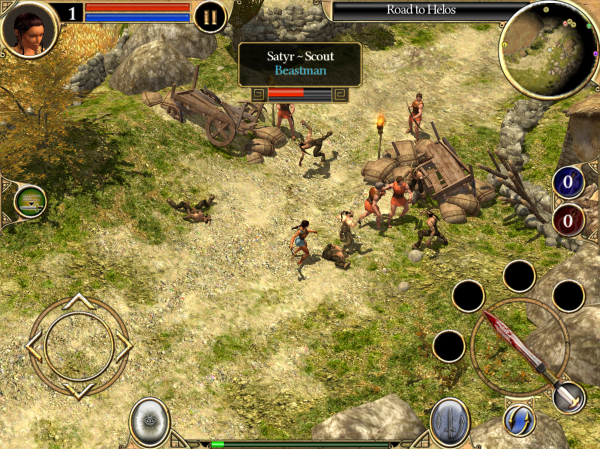 How Does Titan Quest On Mobile Stack Up Against The Pc