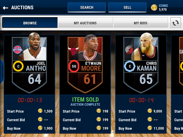 how to buy elite players in nba live mobile