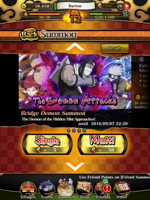 How to get stronger characters in Naruto Shippuden: Ultimate Ninja