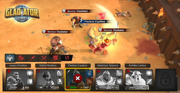 Popular online turn-based battler Gladiator Heroes