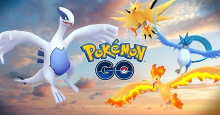 Catch yourself a Lugia and Articuno in Pokemon GO right now