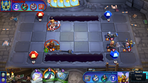 hero academy 2 basic tactics