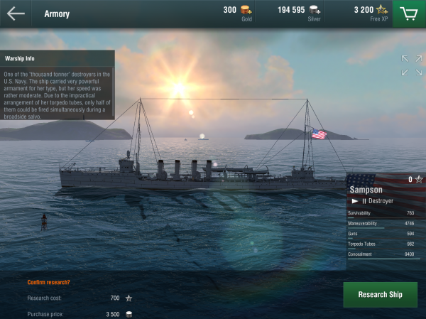 Here are the best ships at everything in World of Warships Blitz
