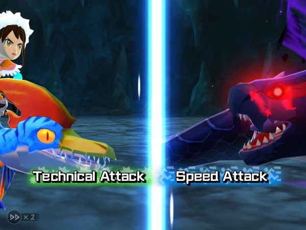monster hunter stories battle splitscreen