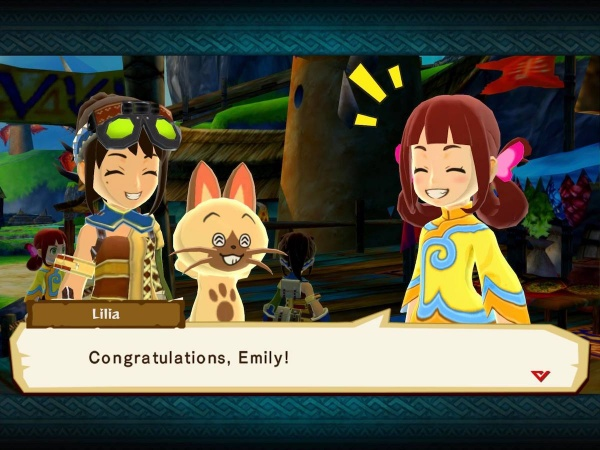 monster hunter stories smiling cat