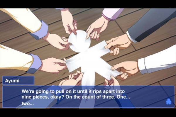 corpse party ios paper dummy hands