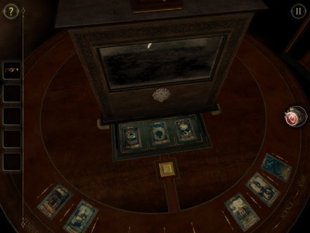 The Room 2 iOS screenshot - An early box-based puzzle