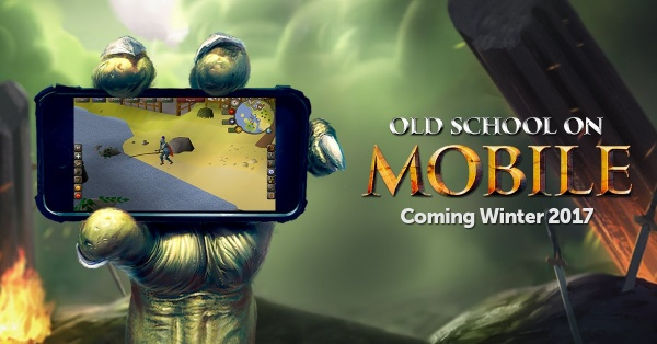 Oldschool Runescape Mobile advert
