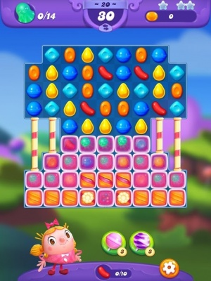 Candy Crush Friends Saga guide screenshot - A tougher level
