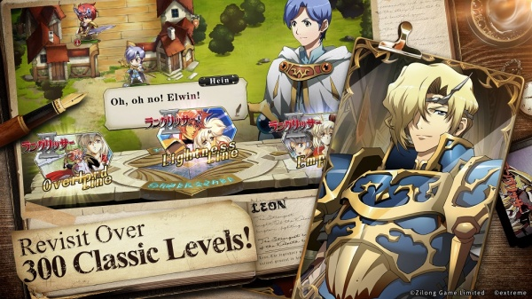 The game marks the mobile debut of this tactical RPG titan and it's pulled  out all of the stops in a bid to trump its rival on touchscreen devices.