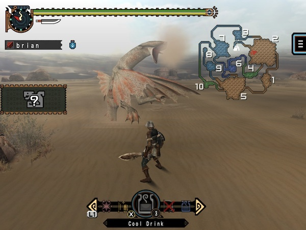 Monster Hunter Freedom Unite on sale for iOS screenshot