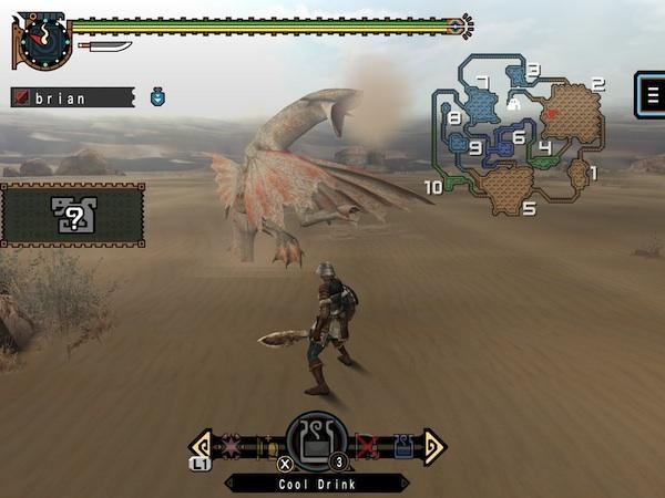 Monster Hunter Freedom Unite on sale for iOS screenshot