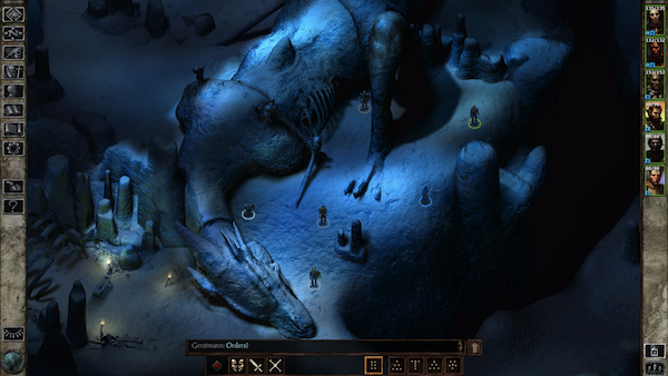 Icewind Dale iOS screenshot best games on sale for iPhone and iPad