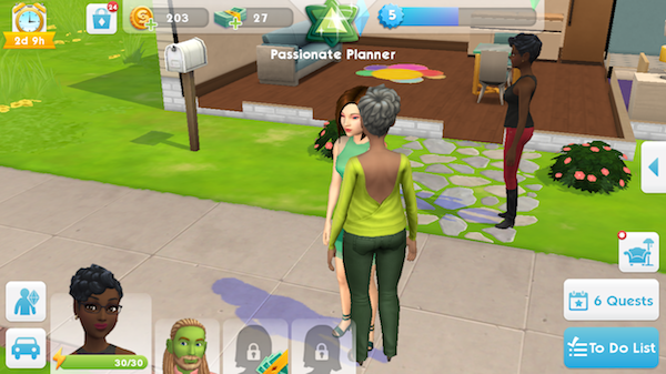 The Sims Mobile iOS screenshot games of the week
