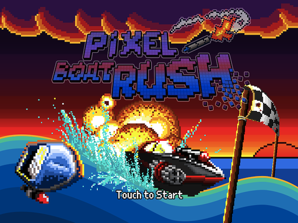 Pixel Boat Rush best games on sale for iPhone and iPad screenshot