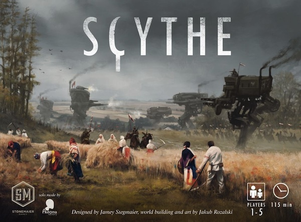 Scythe artwork Around the Empire