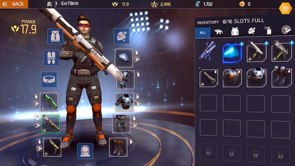 Shadowgun Legends iOS review screenshot 2