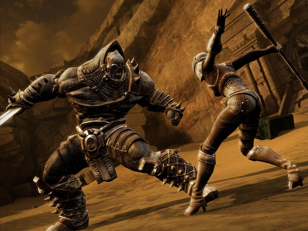 Infinity Blade 3 iOS screenshot best games on sale for iPad and iPhone